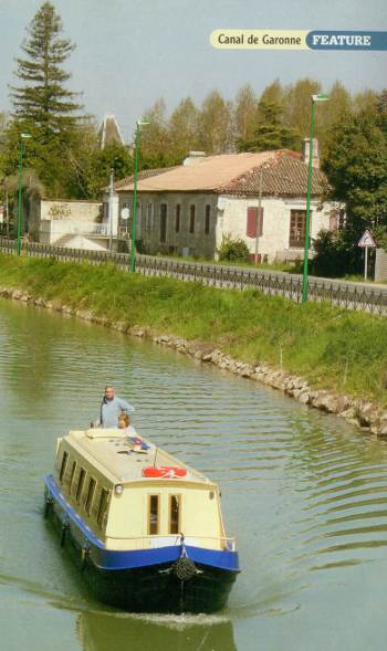 Cruising the Canal De Garonne
