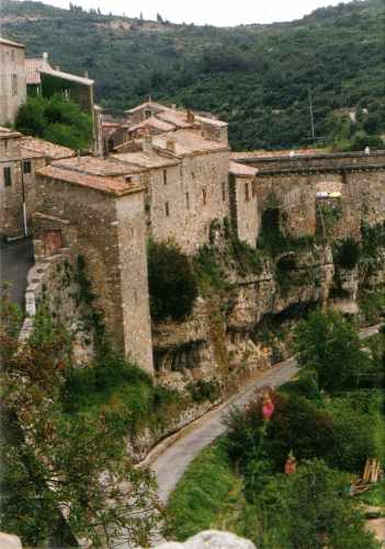 The city of Minerve - an ancient Cathar stronghold