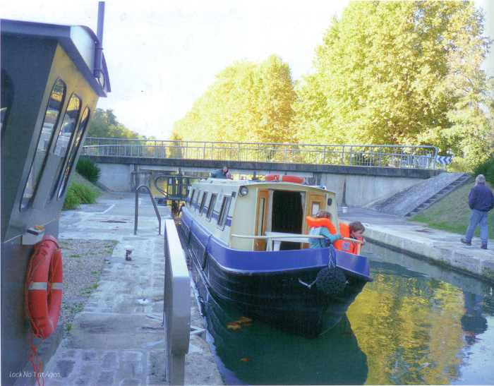 Lock No. 1 at Agen