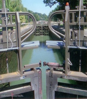 Well maintained locks