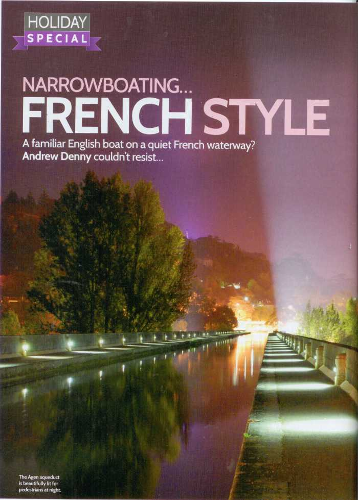 Narrowboating French Style
