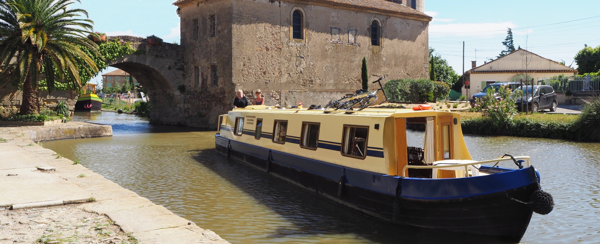 Our Boat on the Canal du Midi